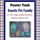 Genetic Pet Family Lab (Genetic Traits, Heredity and Punne