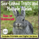 Genetics Quiz: Multiple Alleles and Sex Linkage