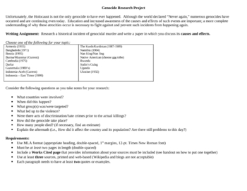 research paper assignment handout Have students compile a research log and reflect on the research process have students compile a research proposal/grant proposal that contains an outline of their topic and a clearly articulated research strategy.