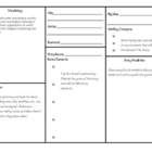 Genre Elements Comprehension Worksheet