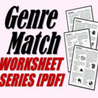 Genre Match (Genre Review Worksheets