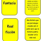 Genre Playing Cards in Spanish