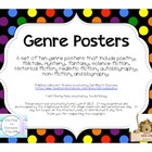 Genre Poster Set in Multi-color Polka Dots
