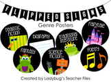 Genre Posters (Flipped Signs)