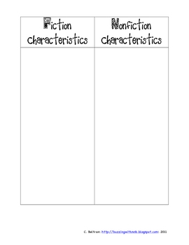 Genre Study Organizers and Printables Freebie Sampler