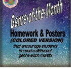 Genre-of-the-Month Reading Logs, Activities, & Posters by