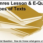 Genres: A Powerpoint Presentation &amp; E-Quiz