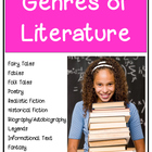 Genres of Literature