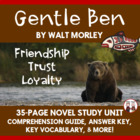 Gentle Ben Reading Comprehension Activity Guide