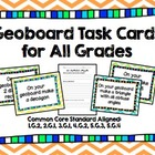 Geoboard Task Cards Common Core Aligned Grades 1-5