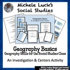 Geography Basics Review Games Centers Activities &amp; Wrap-up