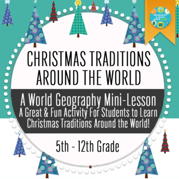 Geography: Christmas Traditions Around The World Trivia Game