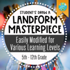 Geography: Face Of The Earth, Landforms Masterpiece