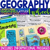 Geography Lapbook Interactive Kit