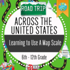 Geography: Road Trip_Learning To Use A Map Scale