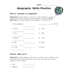 Geography Skills Practice
