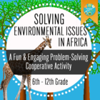 Geography: Solving Environmental Issues In Africa
