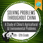 Geography: Solving Problems Throughout China