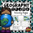 Geography Terms Flashcards