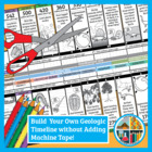 Geologic Timeline Activity: Adding Machine Tape-Free, Anno