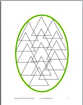 Geometric Eggs for Art and Fun