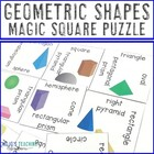 Geometric Shapes Magic Square