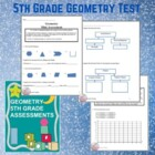 Geometry 5th Grade Assessment - CCSS