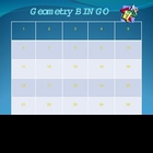 Geometry BINGO State Test Prep for Grades 7 and 8