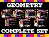 Geometry Complete Set : Polygons, Solids, Ordered Pairs, L
