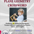 Geometry Crossword: Emphasizes Points, Lines, &amp; Angles