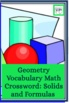 Geometry Crossword: Solids &amp; Formulas