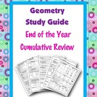 Geometry End of the Year Review Study Guide