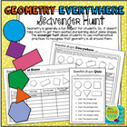 Geometry Everywhere: 2D Shapes Scavenger Hunt