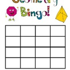 Geometry Fun Bingo Game