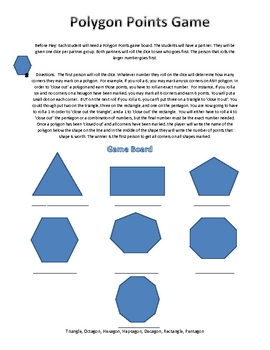 Geometry Game Printable