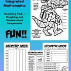Geometry Gator-Common Core-Geometry,Graphing,and Measuring