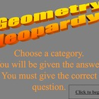 Geometry Jeopardy: Polygons, Angles, Triangles, & Circles