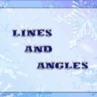 Geometry: Lines and Angles (Winter Themed)