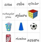 Geometry Matching Cards
