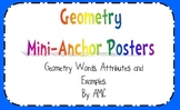 Geometry Mini Anchor Posters