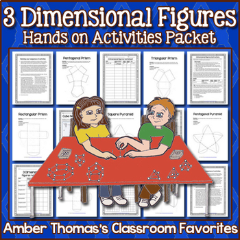 Geometry Mini Unit:  3 Dimensional Figures