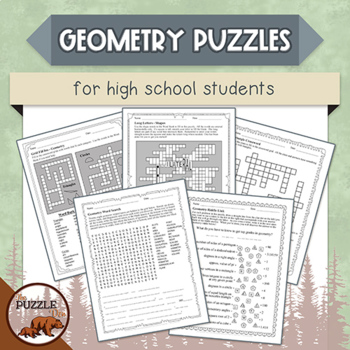 Geometry Puzzles for High School