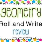 Geometry Roll and Write Review Game