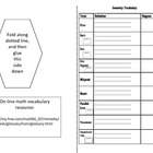 Geometry: Student Glossary and Vocabulary