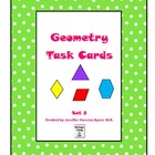 Geometry Task Cards Set 2