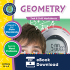Geometry - Task & Drill Sheets Gr. 6-8