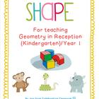 Geometry - Teaching Shape for Kindergarten (Reception) /Year 1