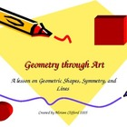 Geometry Through Art - Using works of art to explore basic