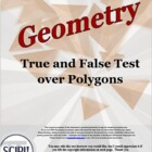Geometry True and False (Polygons)