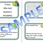Geometry Vocabulary Game